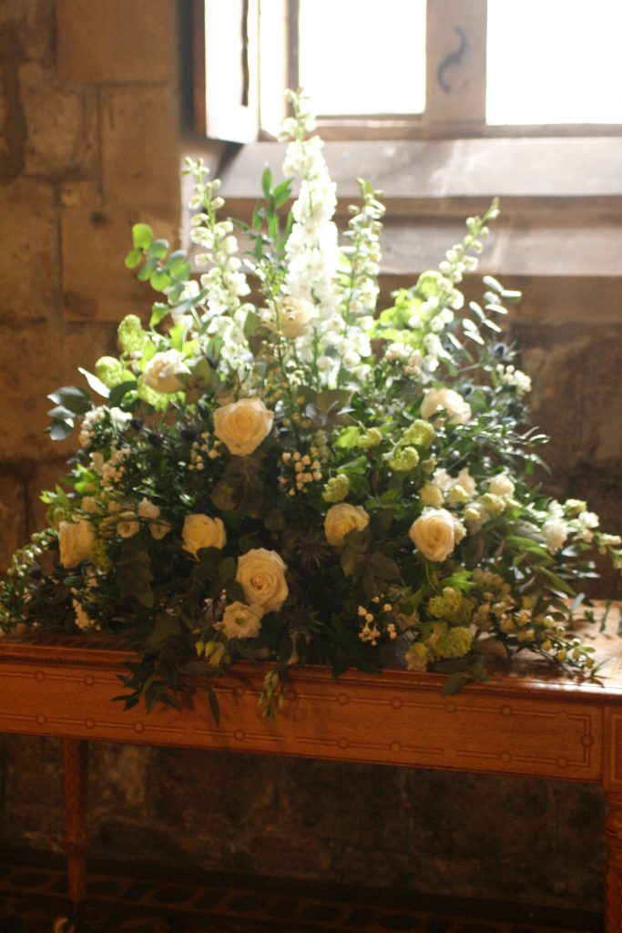 Newbattle Abbey Dalkeith Wedding Florist