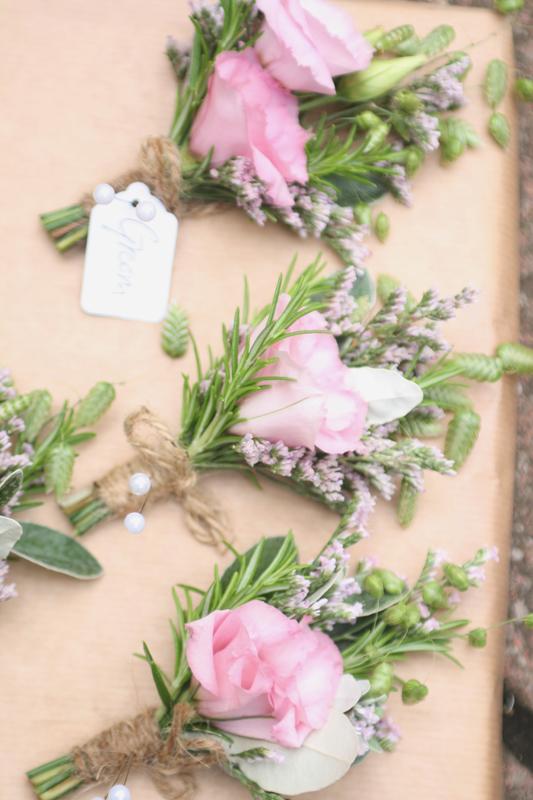 Gents Buttonholes Dalkeith Florist