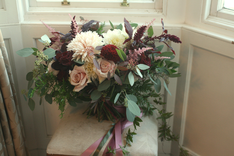 Wide boho bouquet Edinburgh